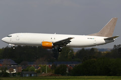 EI-STM 29042017 (Tristar1011) Tags: eblg lgg liègeairport aslairlinesireland jettime boeing 737400sf b734 eistm cargo freighter