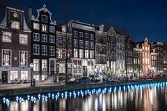 Light it up (McQuaide Photography) Tags: amsterdam noordholland northholland netherlands nederland holland dutch europe sony a7rii ilce7rm2 alpha mirrorless 1635mm sonyzeiss zeiss variotessar fullframe mcquaidephotography lightroom adobe photoshop tripod manfrotto light licht night nacht nightphotography water reflection stad city urban waterside lowlight architecture outdoor outside waterfront capitalcity capital illuminated building longexposure herengracht canal gracht amsterdamlightfestival lightfestival flowerstrip aetherhemera installation art artwork canalhouse grachtenpand