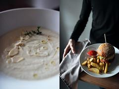 5 (iamgreengory) Tags: foodphoto foodporn foodstyle foodblogger foodie salad burger bun soup