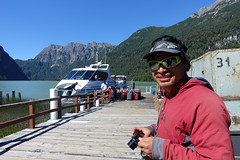 Getting ready to board the boat back to Bariloche. Laguna Frias (*Andrea B) Tags: peruandesguide december december2016 2016 patagonia park boat boats lagunafrias frias bariloche argentina south southamerica america hike hiking backpack backpacking camp camping lake lago parque nacional nahuel huapi parquenacionalnahuelhuapi national andes paso de los nubes pasodelosnubes cruise cruising