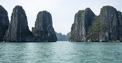 Ha Long Bay (Greg M Rohan) Tags: ocean rock halong hạlongbay bluewater blue vietnam limestonerock sea limestone water photography 2017 d7200