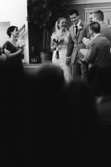 presenting Mr. and Mrs. (Marm O. Set) Tags: canon a1 canona1 fd fd135 135mm kentmere kentmerefilm kentmere400 kodak kodaktmax developer tmaxdeveloper kodaktmaxdeveloper beseler enlargement print darkroom wet wetdarkroom wetprint kentmerepaper kentmerevcrcglossypaper kodakdektol dektol analog analogue film filmscan scanner canoscan canoscan9000 canoscan9000f canoscan9000fmarkii wedding 35mm 35mmfilm 35mmblackandwhite blackandwhite blackandwhitefilm monochrome