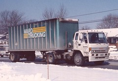 "GMC Forward, ""Ward Tkg"" (PAcarhauler) Tags: gmc coe cabover semi tractor trailer truck"