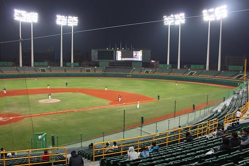 高雄澄清湖棒球場 Kaohsiung Chengcing Lake Baseball Stadium