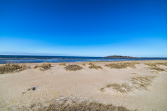 At the beach (Arttu Uusitalo) Tags: beach sand landscape storsand nykarleby uusikaarlepyy may spring finland wideangle 14mm canon eos 5d mkiv clear blue sky seashore