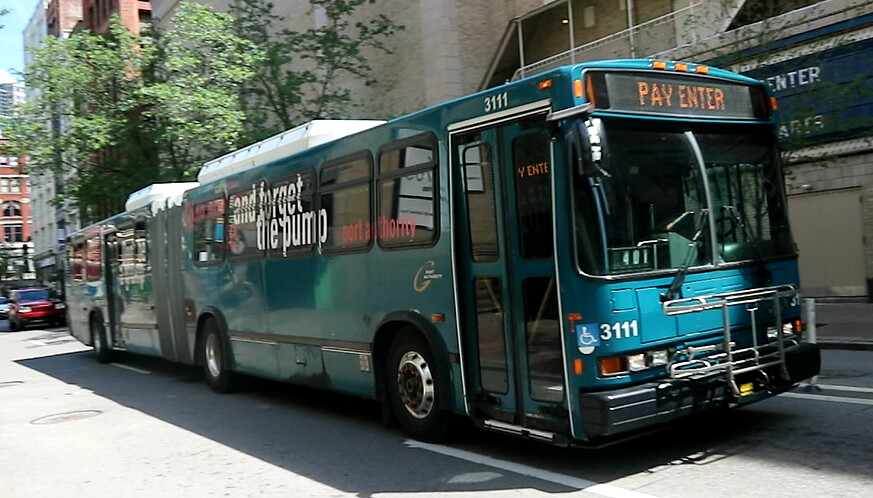 The world 39 s best photos of bus and pittsburgh flickr hive mind - Pittsburgh port authority ...
