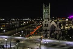 night lights on I75 Detroit (TAC.Photography) Tags: detroit lighttrails woodwardavenue i75