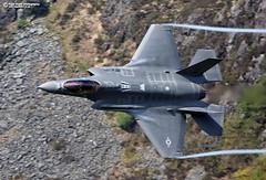"Lockheed Martin F-35A Lightning II ""Explore""#66 04-05-2017 (Nigel Blake, 14 MILLION...Yay! Many thanks!) Tags: lockheed martin f35a lightning ii corris mach lopp lfa7 wales lowflying low fly flight training aircraft aviation military usaf usafe hill afb utah 34th fss 388th fw fighter squadron wing nigelblakephotography nigelblake"