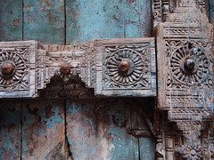 Gujarat 2015 (hunbille) Tags: zupadi ni pole pol zupadinipole door gujarat oldcity old city india ahmedabad a3b cy2