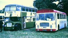 Slide 096-01 (Steve Guess) Tags: showbus rally event bus woburn abbey bedfordshire england gb uk bristol flf ecw lh xel826k 842shw century oils showroom