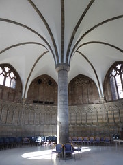 Chapter House, Worcester Cathedral (Aidan McRae Thomson) Tags: worcester cathedral worcestershire medieval architecture gothic chapterhouse