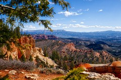 Bryce Canyon National Park (Parowan496) Tags: brycecanyonnationalpark mountains pinetrees landscape farviewpointoverlook elevation8819feet