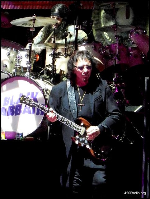 Black Sabbath - Clark County Amphitheater - Vancouver, Washington - 09/13/16