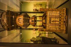 Ashmolean Museum - Coffins of Djeddjehutyiuefankh 2 (Le Monde1) Tags: oxford england oxfordshire university city lemonde1 nikon d800e county college sarcophagus tomb burial ashmolean museum king djeddjehutyiuefankh painted coffins greattemple egyptian uk dreamingspires morse