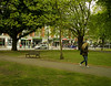 Project 365; #128 (iMalik1) Tags: project 365 days photo day challenge potd ealing london green grass trees cloudy cold walking work girl park bench get west snapped photographer imalik photography canon eos m3 efm 22mm