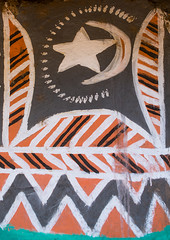 Star and moon on a painted house, Kembata, Alaba Kuito, Ethiopia (Eric Lafforgue) Tags: abyssinia africa alaba architecture art artistic building color culture day decor decorated decoration depiction design drawing eastafrica ethiopia geometric halaba home hornofafrica house housing hut illustration islam kulito moon mural muslim nopeople nobody outdoors painted painting poverty ruralscene star toukoul traditional tukul vertical village ethio163409 alabakuito kembata