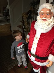 "Paul Plays with Santa at Grandma and Grandpa Miller's • <a style=""font-size:0.8em;"" href=""http://www.flickr.com/photos/109120354@N07/34430544626/"" target=""_blank"">View on Flickr</a>"