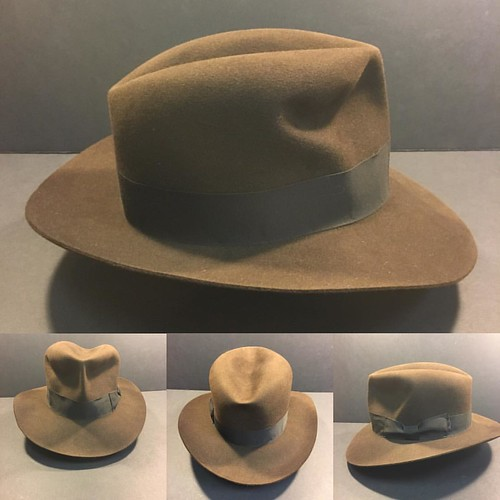 eb76cc5481ebc Just finished this  raidersofthelostark  penmanhats  harrisonford  bespoke   custommade  handmade