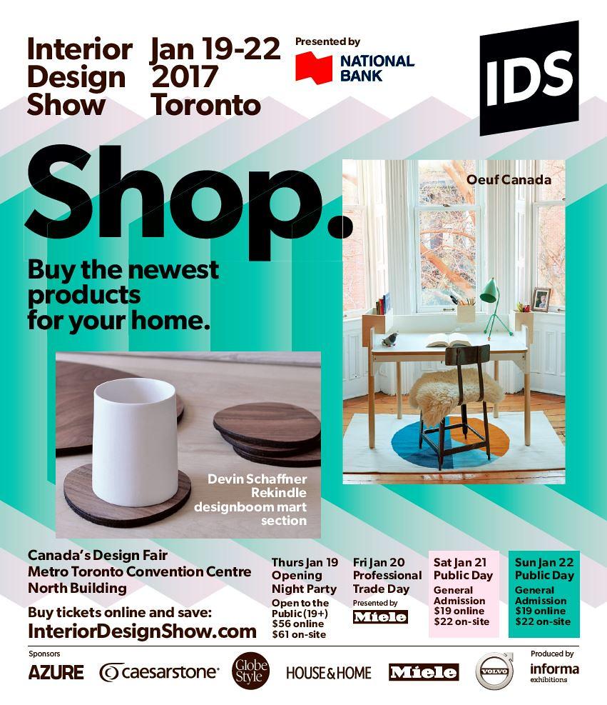 Metro Interior Design Show Toronto Tags Advertising Oeufcanada Devinschaffner Designboommart Nationalbank Miele