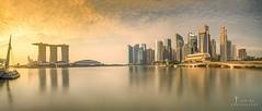 Marina Bay sands (jaywu429) Tags: landscape cityscape explore inexplore singaporeriver river water sonya7r sony skyline sky asia panorama longexposure marinabaysands singapore
