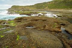 Frazer Beach Rocks (Paul Hollins) Tags: catherinehillbay newsouthwales australia nikond750 nikon1635mmf4 seascape frazerpark