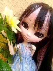 Helena ♥ (♥ MarildaHungria ♥) Tags: helena pullip fanatica regenerationseries obitsu obitsued rewigged nature flower cute kawaii lovely