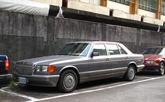 Mercedes-Benz 300 SEL (V126) (rvandermaar) Tags: mercedesbenz 300 sel v126 w126 taiwan mercedesbenz300sel mercedesbenzsel mercedesbenzs mercedesbenzw126 mercedesbenzv126 mercedes sclass s sklasse mercedess mercedessel mercedes300sel mercedesw126 mercedesv126