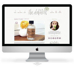 TheDabblist BlogDesign (wordpresprodev) Tags: wordpress blog customdesign bloglover creativedesign