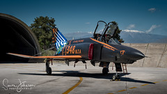 """Spook Special "" (simonjohnsonphotography.uk) Tags: nikonaviation aircraft nikon spook aviation rf4e jet hellenicairforce mcdonnelldouglas phantom simonjohnsonphotography larissa greekairforce"