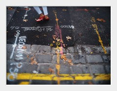 street map (Andrew C Wallace) Tags: street map streetphotography streetart cbd city pavement sidewalk markings paint melbourne victoria australia olympusomdem5 microfourthirds m43 tiltshift homemadelens