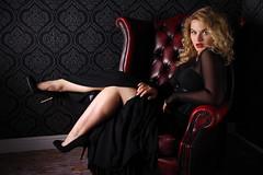 Laid back, relaxing (David Blandford photography) Tags: jessica megan blured vision group photoshoot fareha studio