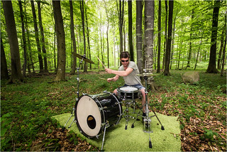 Get the drums back to the woods