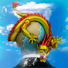 The primitive man (jaci XIII) Tags: homem pessoa surrealismo céu dragão man surrealism dragon sky person