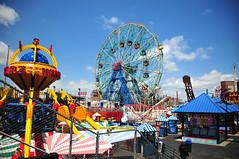 DSC_2391ConeyIsland (artsynancy) Tags: coneyisland brooklyn coneyislandbrooklyn spring amusement throwback urban seaside shore boardwalk carousel entertainment newyorkcity newyork brooklynnewyork