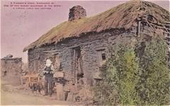 A Pioneer's home on Kangaroo Island, South Australia - very early 1900s (Aussie~mobs) Tags: vintage australia kangarooisland stonecottage pioneer oldest thatchroof southaustralia
