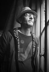 Alberto Baraya (RoryO'Bryen) Tags: albertobaraya artist colombianartist portrait retrato roryobryen copyrightroryobryen rangefinder leicamp 50mm leicasummiluxm50f14asph ilforddelta400 selfdeveloped rodinal 9mins cambridge number9 9adamsroadcambridge 9adamsroad
