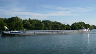 Oissel - Bords de Seine - Péniche