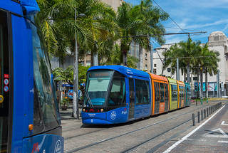 The southernmost tram in the European Union