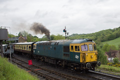 33108 Highley (EGRP43924) Tags: class 33 crompton 33108 331 preservation company severn valley railway highley svr spring diesel gala