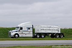 ICX Peterbilt 579 (Trucks, Buses, & Trains by granitefan713) Tags: truck bigtruck class8 tank tanktruck tanker peterbilt peterbilttruck icx peterbilt579 579 chemical tractortrailer tankhauler sharptruck