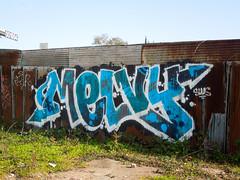 (gordon gekkoh) Tags: ajar melvy melvin oakland graffiti