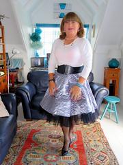 Satin Skirt (Trixy Deans) Tags: crossdresser cd cute crossdressing crossdress classic classy corset frilly feminine frills tgirl tv transvestite transgendered tranny transsexual tgirls trixy xdresser sexy sexytransvestite sexyheels sexylegs sexyblonde shortskirt shortskirts