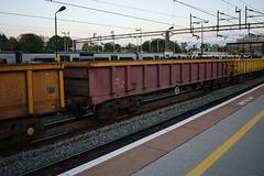 503508 Northampton 290417 (Dan86401) Tags: 503508 503 mla bogie open ballastbox wagon freight greenbrier ews db dbcargo redsnapper fishkind engineers departmental infrastructure northampton wcml 7r03