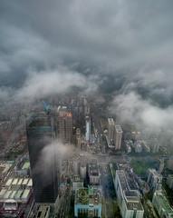 Misty Taipei (kenneth chin) Tags: nikon d810 nikkor 1424f28g taiwan taipei fog misty cityscape yahoo google city attraction cloud