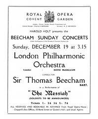 British advertisements: (painting in light) Tags: ad advert advertisement sell selling 1937 british england illustration drawing london philharmonic orchestra conducted sir thomas beecham royaloperahouse coventgarden 12th dec messiah handel