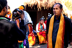 Interview time (abrinsky) Tags: india nagaland kohima hornbillfestival hornbill2016