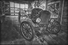 Charles River Museum of Industry, Ma (mcleod.robbie) Tags: black white furnancefashionedphotography car automotive historic museum charles river tire