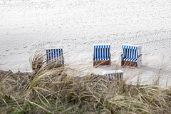 Beach Chairs (lapideo) Tags: beachchairs nature sea beach sand