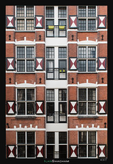 Coat of Arms (Ilan Shacham) Tags: amsterdam netherlands holland city urban windows abstract repetition eight 16 architecture geometry square fineart fineartphotography