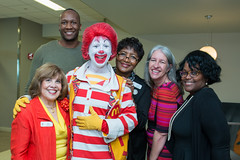 Helen Cavazos, Tyrone Shealy, Ronald McDonald, Mary Redmond, Tanya Gee and Mary Jones (UTHealth) Tags: ronald mcdonald care mobile uthealth school dentistry houston texas children health dental